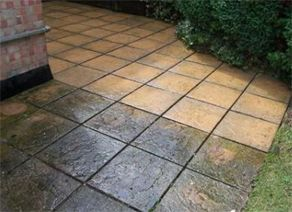 Block Paving cleaning - London