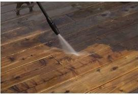 Decking Jet Cleaning
