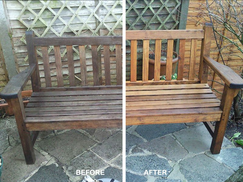 London jet cleaning gallery pictures of our work for Outdoor furniture epping